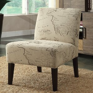 Avalon Map Slipper Chair by A&J Homes Studio