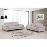 Amatury 2 Piece Leather Living Room Set by Orren Ellis
