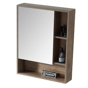 Lee Left Handed 24 x 30 Surface Mount Framed Medicine Cabinet by Modern Rustic Interiors
