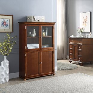 LaMattina 36 W x 53 H x 1402 D FreeStanding Bathroom Cabinet