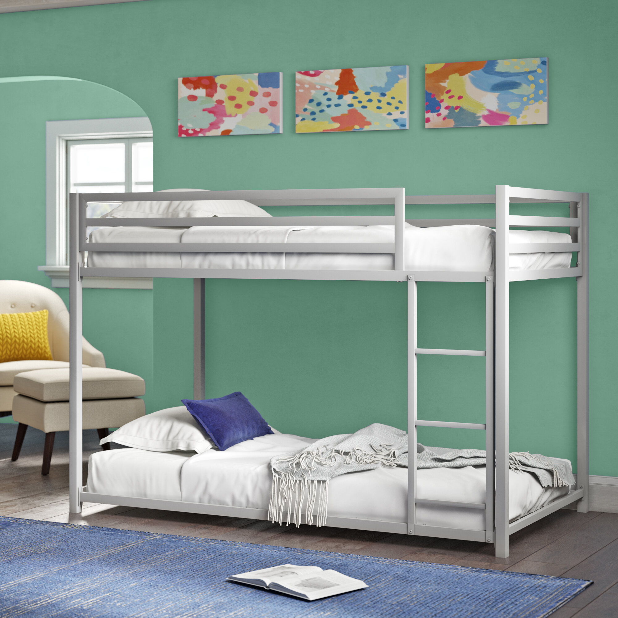 Picture of: Harriet Bee Simoneau Bunk Bed Reviews