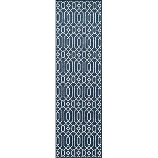 Halliday Blue Indoor/Outdoor Area Rug