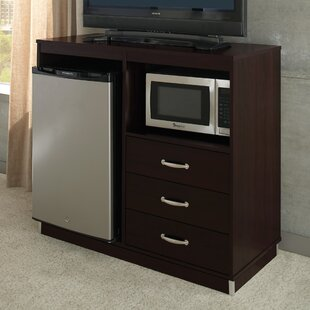 Comparison Micro Fridge 3 Drawer Accent Cabinet ByLang Hospitality
