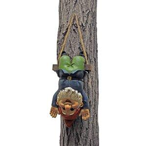 Alfie The Acrobat Swinging Gnome Wall Decor
