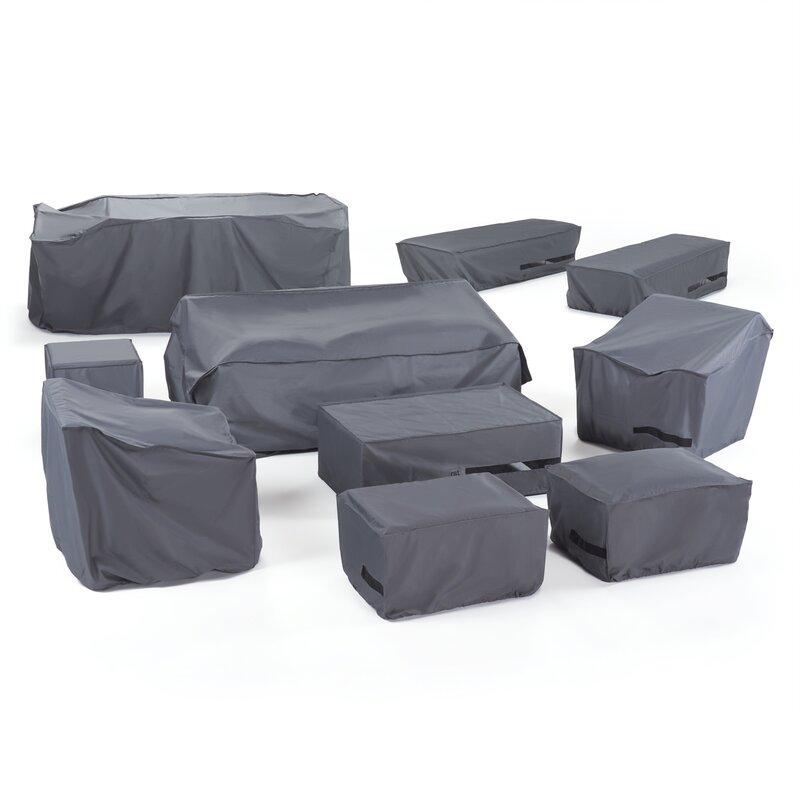 Rst Brands Outdoor Estate Furniture Heavy Duty Conversation Set Cover Wayfair