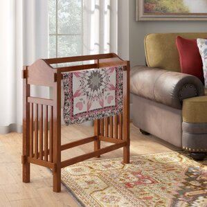 Straight Leg Quilt Rack by Darby Home Co