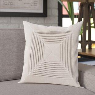 Krumm Textured Cotton Throw Pillow