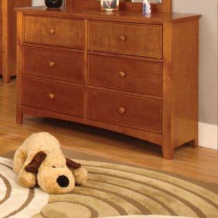 Bedford 6 Drawer Dresser