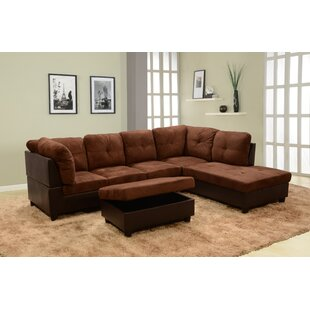 Astonishing Mendoza Right Hand Facing Sectional With Ottoman Cjindustries Chair Design For Home Cjindustriesco