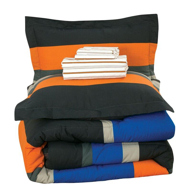 Ebern Designs Orrville Rugby Stripe