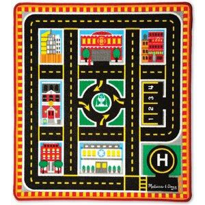 5 Piece Round The City Rescue Playmat Set