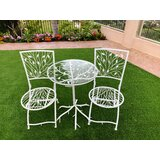 Acheson 3 Piece Bistro Set