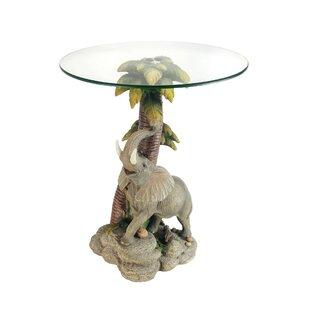 Elephant Glass Table Wayfair