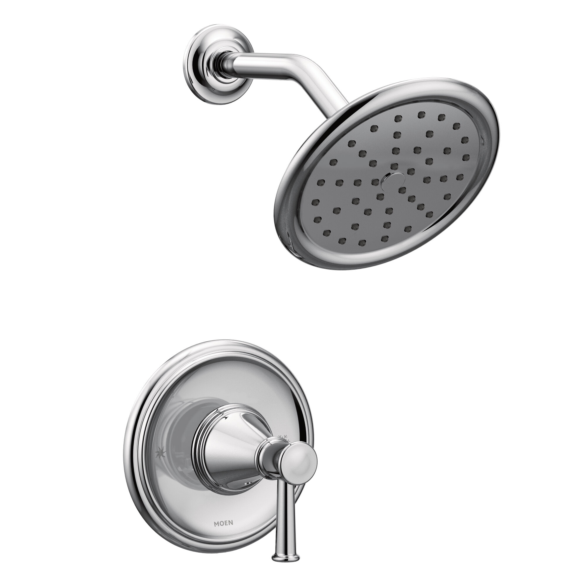 Moen Belfield Shower Faucet With Lever Handle And Posi Temp Reviews Wayfair