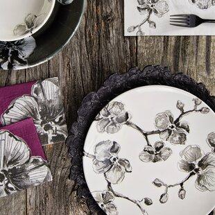 Orchid Melamine Petal Platter
