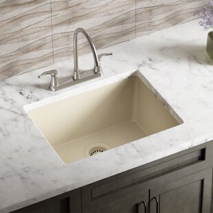 Beige Kitchen Sinks You\'ll Love | Wayfair