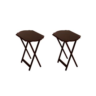 Neena Snack Tray Table Set Set of 2 Set of 2