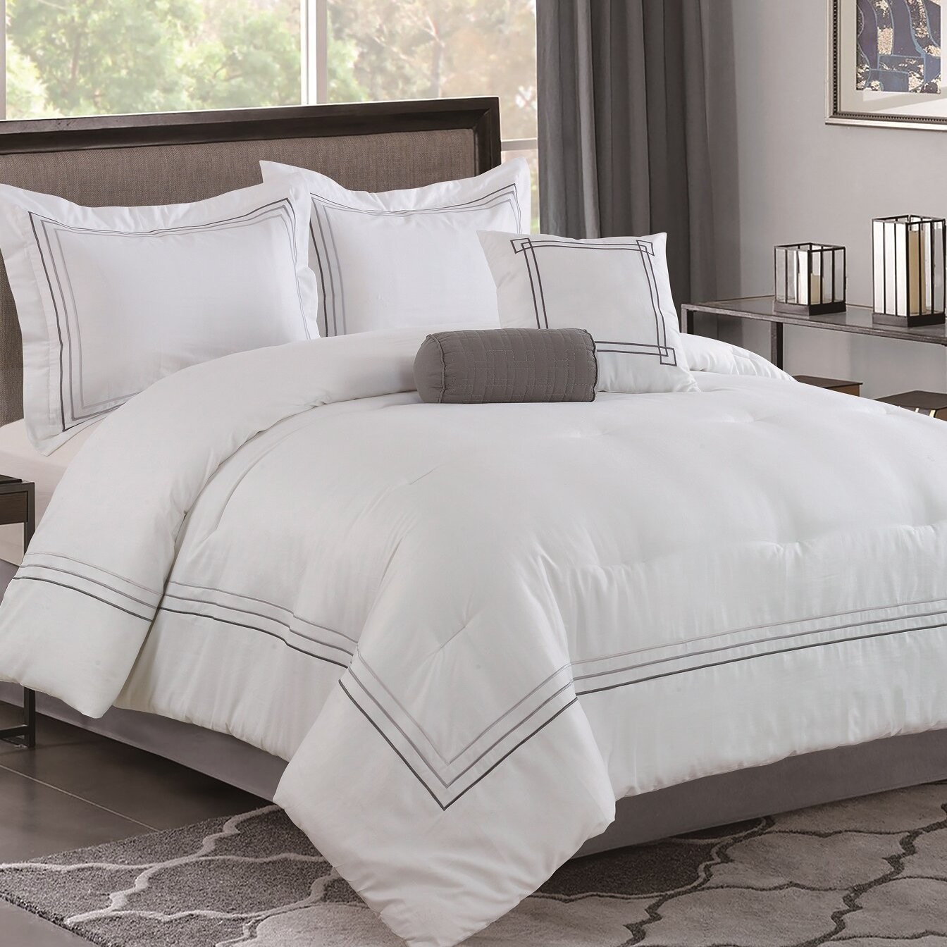 Bellagio At Home Comforter Set Reviews Wayfair