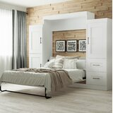 St. Marks Place Storage Murphy Bed by Latitude Run®