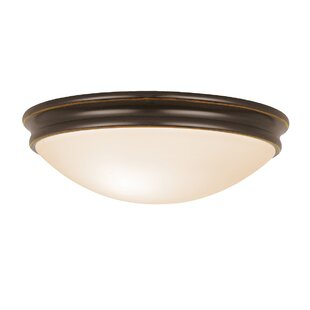 Buying Metcalfe 2-Light Flush Mount By Three Posts