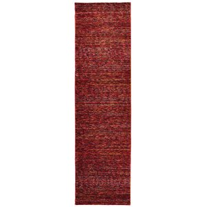 Bobby Red Area Rug