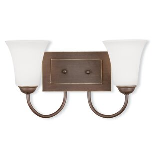 Comparison Grady 2-Light Vanity Light By Alcott Hill