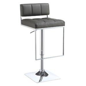 Braeden Adjustable Height Bar Stool by Wa..