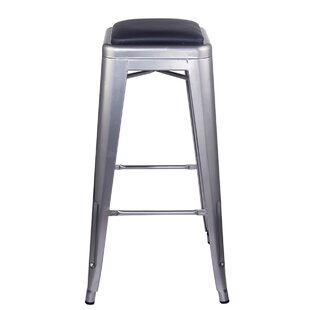 Ricky 30 Bar Stool by 17 Stories