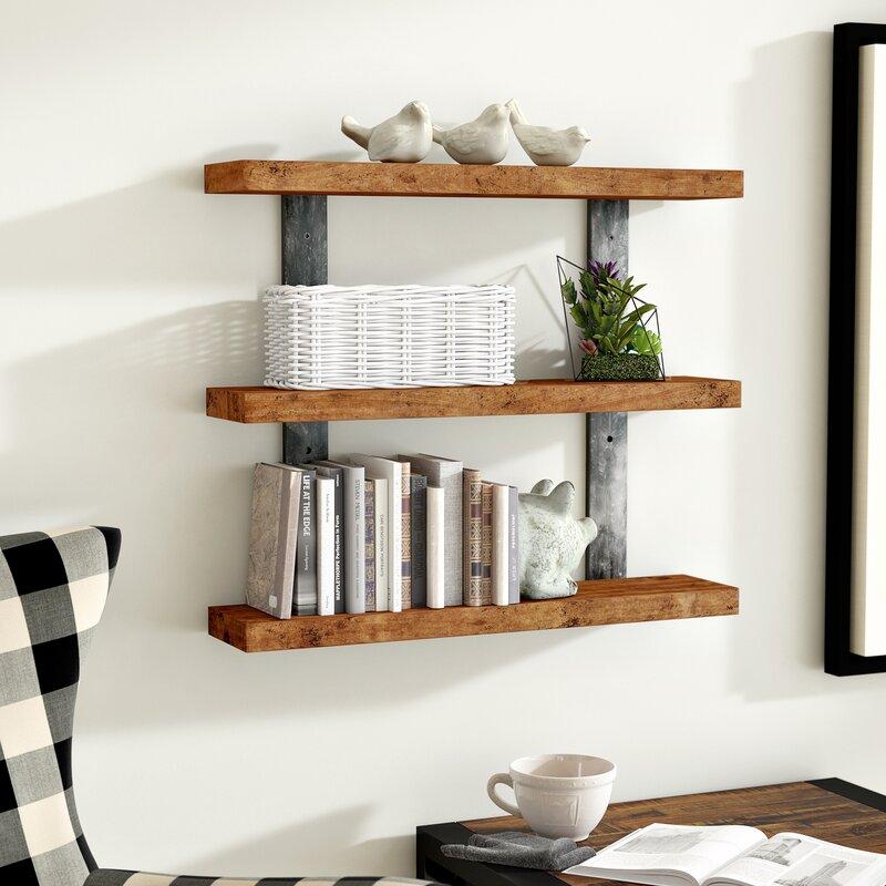 Pratik Industrial 3-Tier Wall Shelf