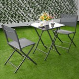 Ansgard 3 Piece Bistro Set