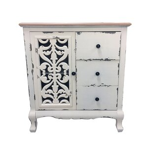 Wachter 3 Drawer Accent Cabinet by Ophelia & Co.