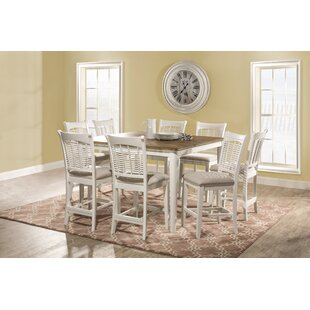 Pandian Bayberry 9 Piece Counter Height Dining Set