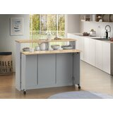 Ruthton Kitchen Cart by Canora Grey