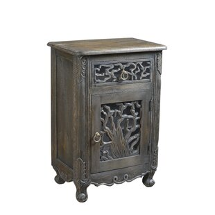 Halina 1 Drawer Nightstand