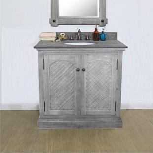 Volker Rustic Solid Fir 31 Single Bathroom Vanity Set