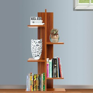 Cuddy Standard Bookcase by Ebern Designs Today Only Sale