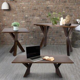 Ridgefield 3 Piece Coffee Table Set