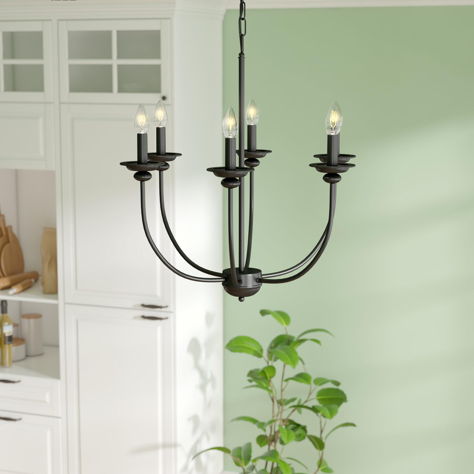 August grove shirl traditional 6 light chandelier wayfair