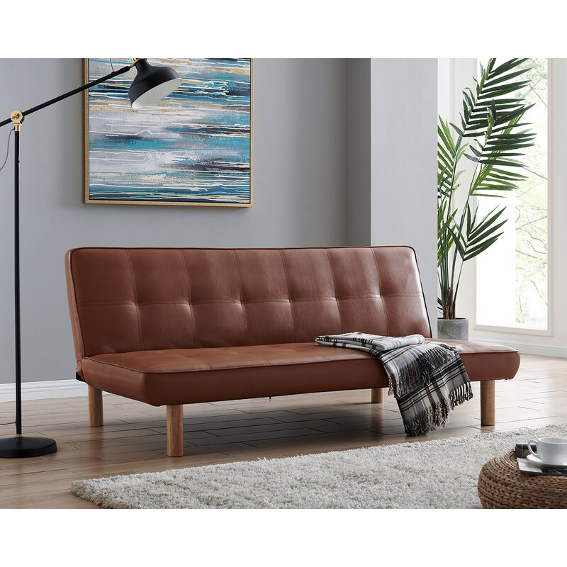 George Oliver Cobbtown Twin Or Smaller 69 6 Tight Back Convertible Sofa Wayfair Ca