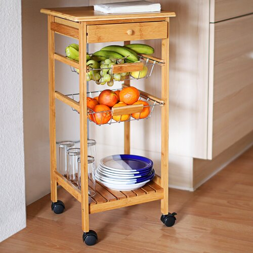 Küchenwagen Arthur Relaxdays   Küche und Esszimmer > Servierwagen   Relaxdays