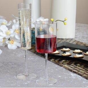 Renaissance Plastic Disposable Wine Glass (Set of 6)