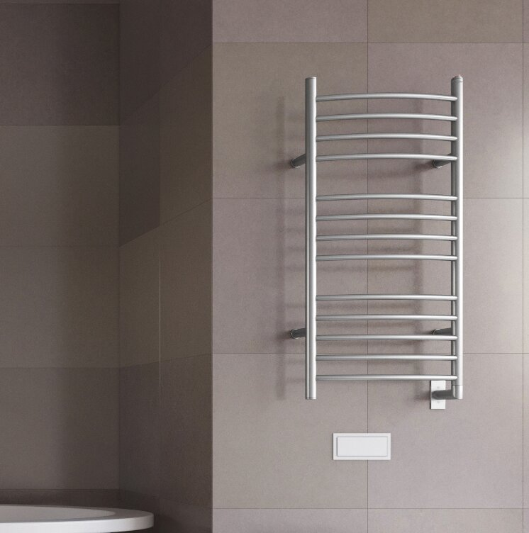 Svelte Rounded Wall-Mount Electric Towel Warmer