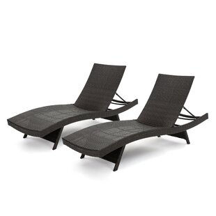 Jett Wicker Chaise Lounge (Set of 2)