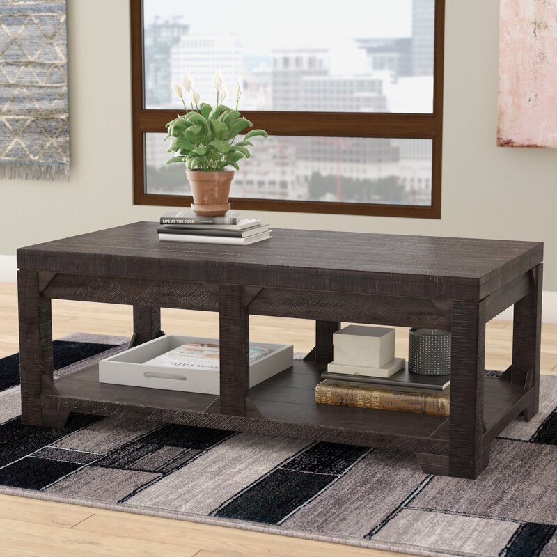 Lift Top Coffee Table In Photo of Painting