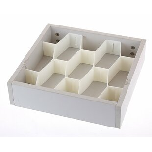 Compare prices 2.6H x 3.3W x 13.7D Drawer Organizer By Rebrilliant