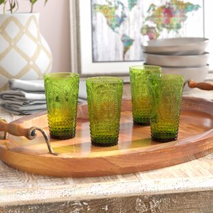 Mcpherson Pressed 14 oz. Juice Glass (Set of 4)