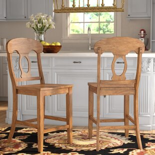 Oceanview Napoleon 24 Bar Stool (Set of 2) Alcott Hill