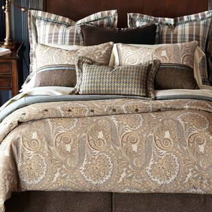 Powell Polyester Single Reversible Comforter by Eastern Accents Best Choices
