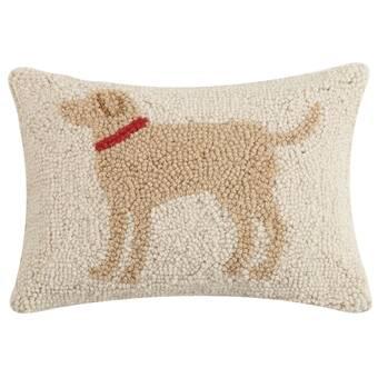Red Barrel Studio Scofield Aries Hook Wool Lumbar Pillow Wayfair