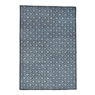 Great Price One-of-a-Kind Organ Hand-Knotted Grey Area Rug By One Allium Way
